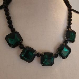 🌟2/$15 Fashion Green Stone Necklace
